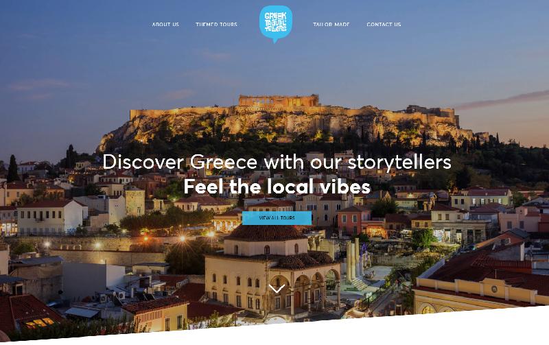 Greek TravelTellers page