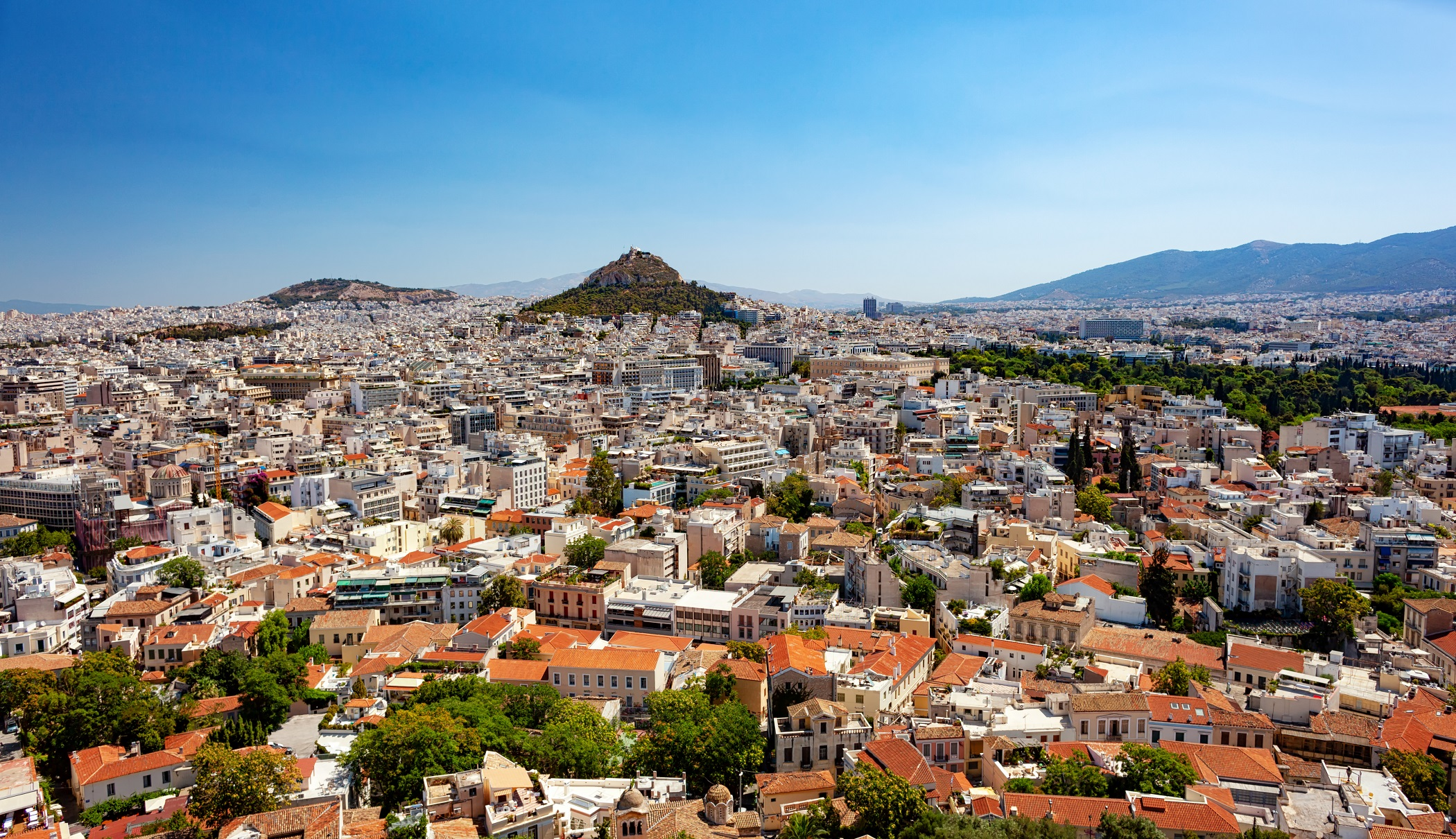 Cityscape of Athens